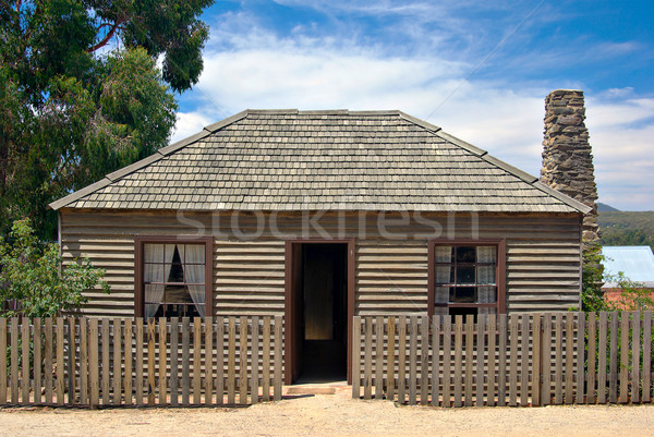 old settlers cottage Stock photo © clearviewstock