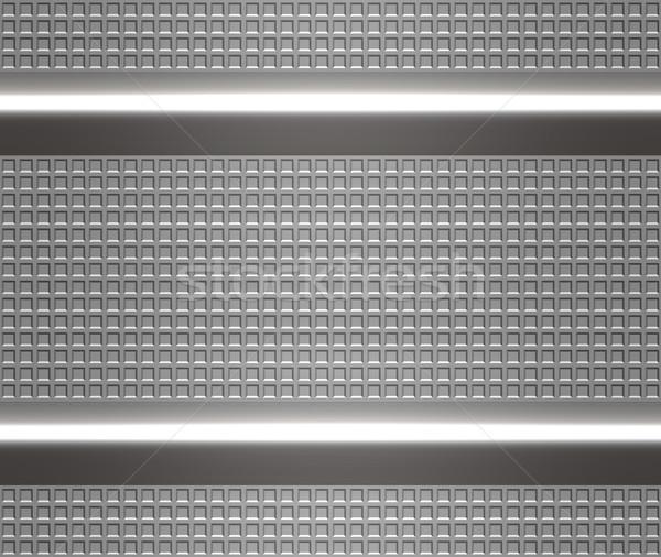 metal steel or aluminium plate Stock photo © clearviewstock