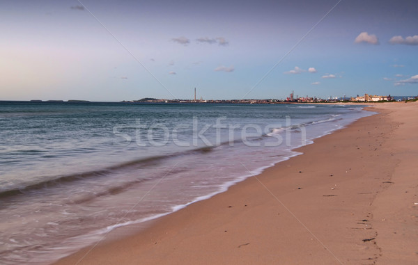 peaceful beach sunrise Stock photo © clearviewstock