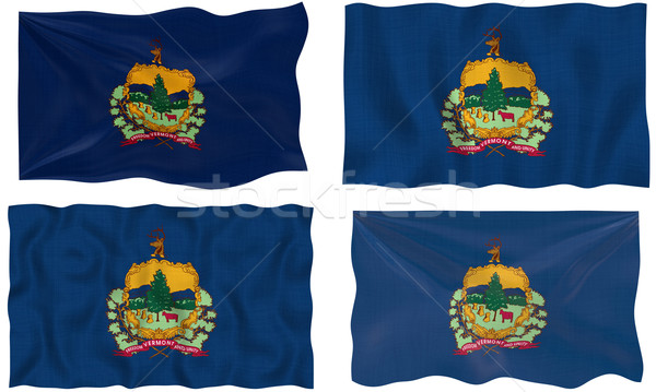 Bandeira Vermont imagem Foto stock © clearviewstock