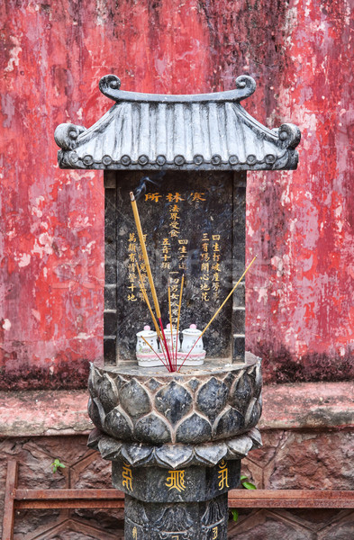 small buddhist shrine in vietnam Stock photo © clearviewstock