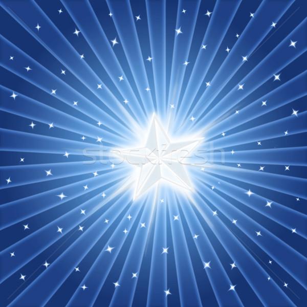 bright shiny star Stock photo © clearviewstock