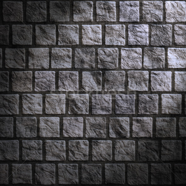 grunge cobblestone wall Stock photo © clearviewstock