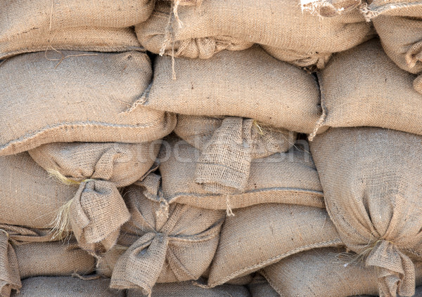 sandbags in pile Stock photo © clearviewstock