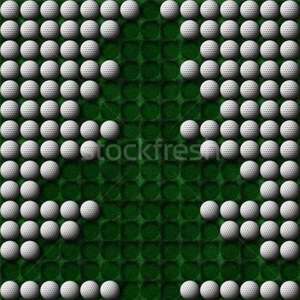 golf christmas tree Stock photo © clearviewstock