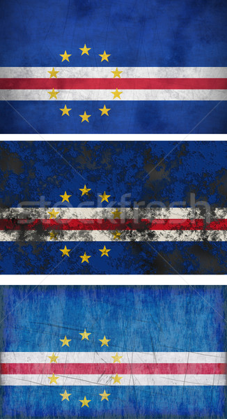 Flag of Cape Verde Stock photo © clearviewstock
