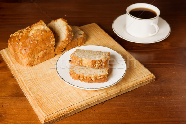 cake and cofee Stock photo © clearviewstock