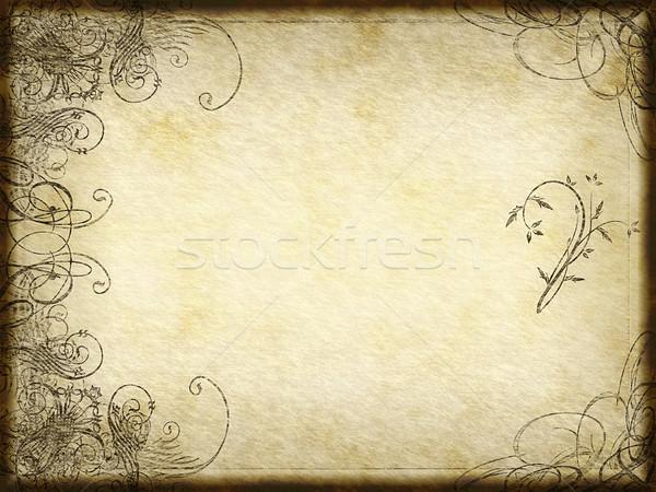arabesque design Stock photo © clearviewstock