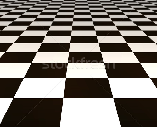 black and white tiles Stock photo © clearviewstock
