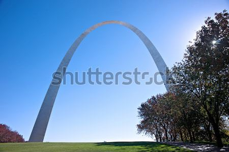 gateway memorial arch in saint louis missouri  Stock photo © clearviewstock