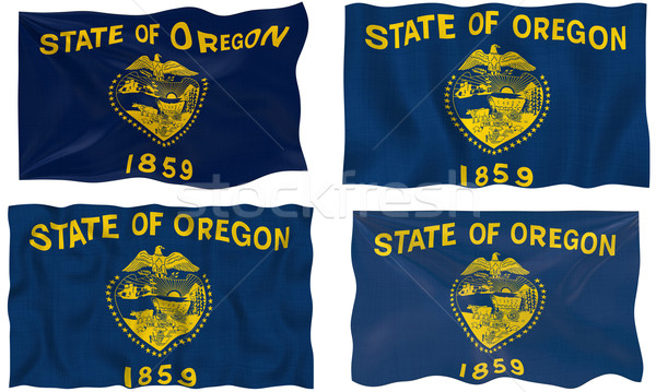 Flag of Oregon Stock photo © clearviewstock