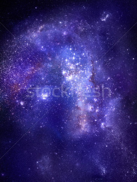 nebula gas cloud in deep outer space Stock photo © clearviewstock