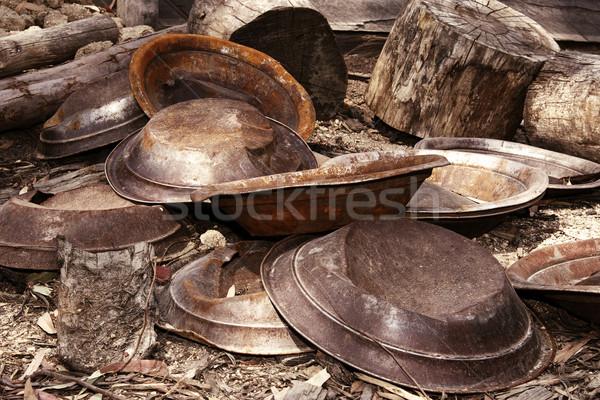 Ouro fracassado todo o mundo foto veja Foto stock © clearviewstock