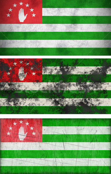 Flag of Abkhazia Stock photo © clearviewstock