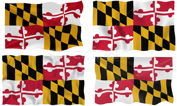 Flag of Maryland Stock photo © clearviewstock