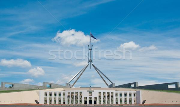 Australian Parliament house Stock photo © clearviewstock