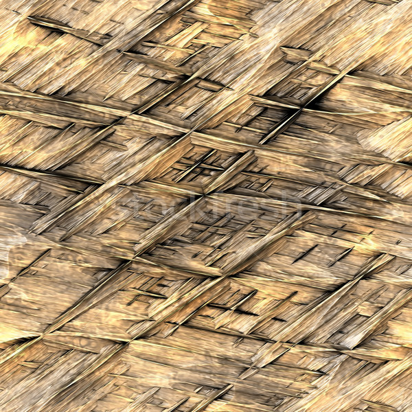straw thatch background Stock photo © clearviewstock