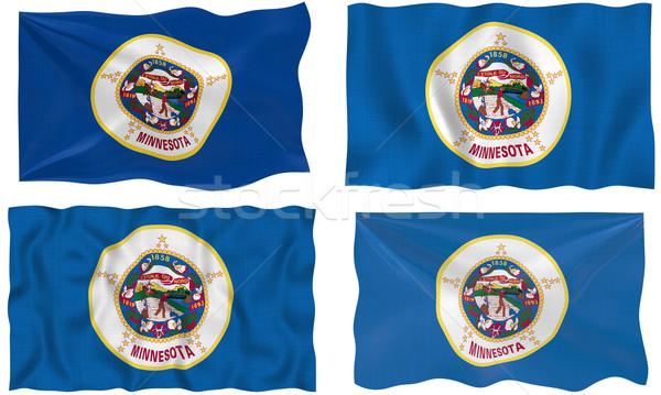 Bandeira Minnesota imagem Foto stock © clearviewstock