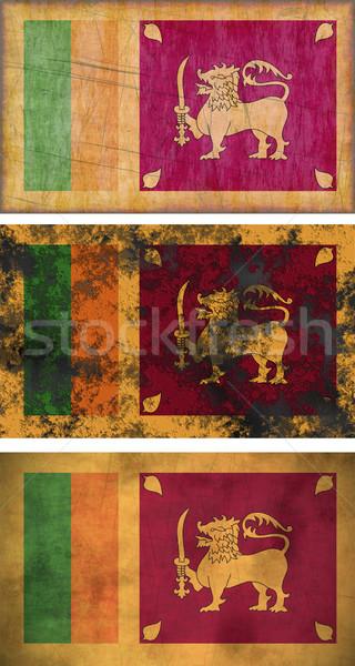 Flag of Sri Lanka Stock photo © clearviewstock