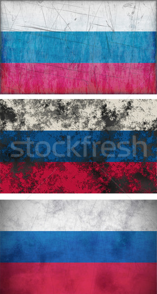 Flag of the Russain Federation Stock photo © clearviewstock