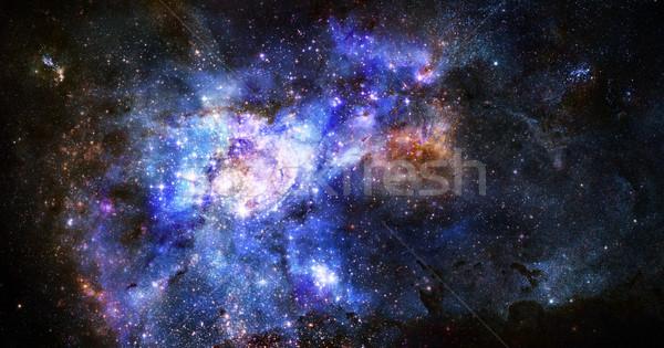 туманность газ облаке глубокий космическое пространство ярко Сток-фото © clearviewstock