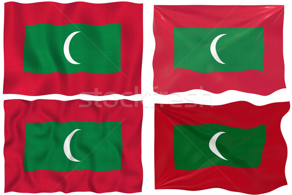 Flag of Maldives Stock photo © clearviewstock