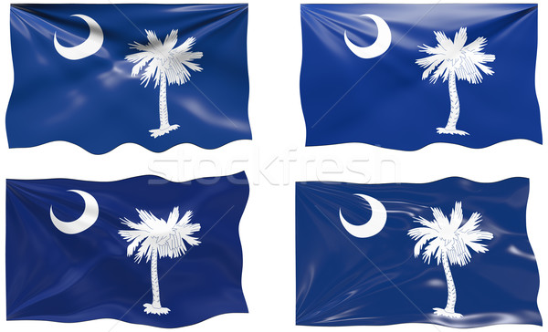 Flag of South Carolina Stock photo © clearviewstock