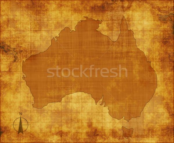 australia map Stock photo © clearviewstock