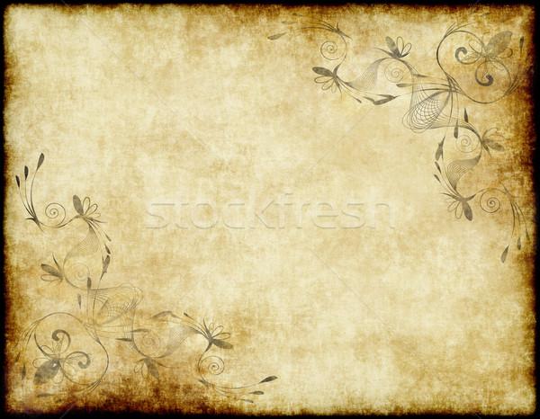 Papier · Parchemin · Fond · Texture · Résumé