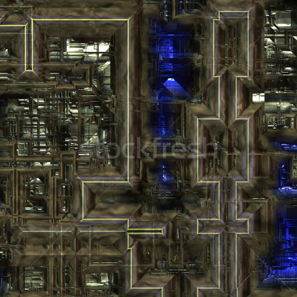 Pesado maquinaria grande imagem industrial trabalhar Foto stock © clearviewstock