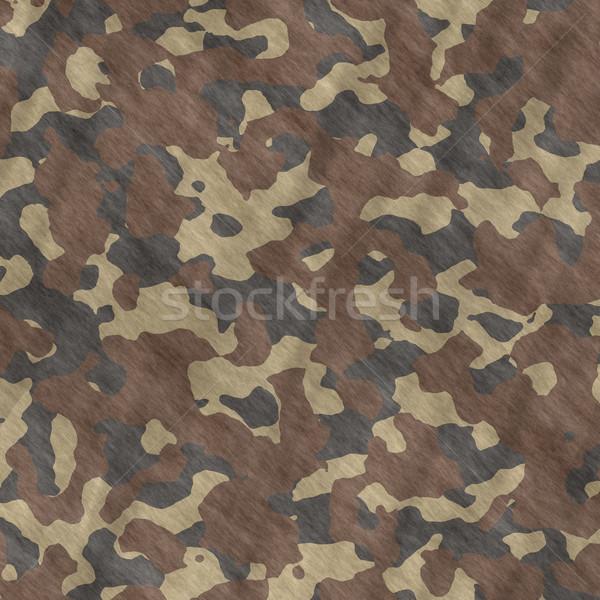 Camouflage materiaal textuur uitstekend afbeelding patroon Stockfoto © clearviewstock