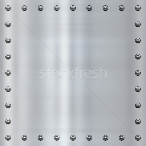 steel alloy metal background Stock photo © clearviewstock
