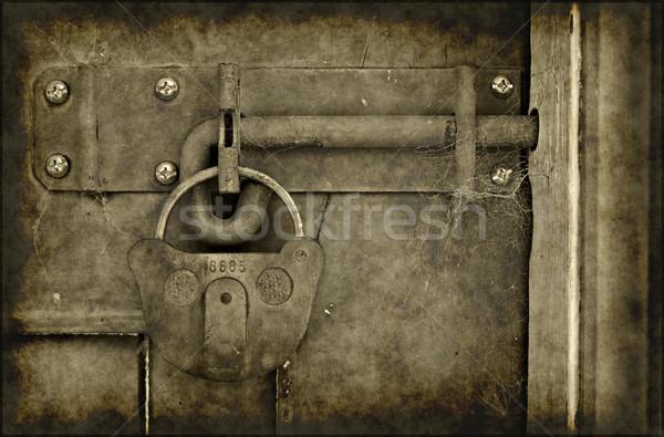 old locked door Stock photo © clearviewstock