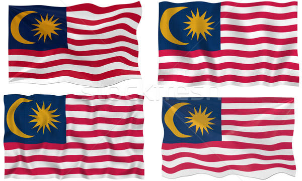 Flag of Malaysia Stock photo © clearviewstock