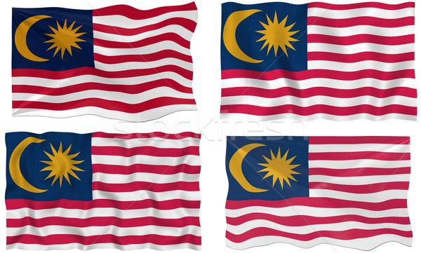 Bandeira Malásia imagem Foto stock © clearviewstock