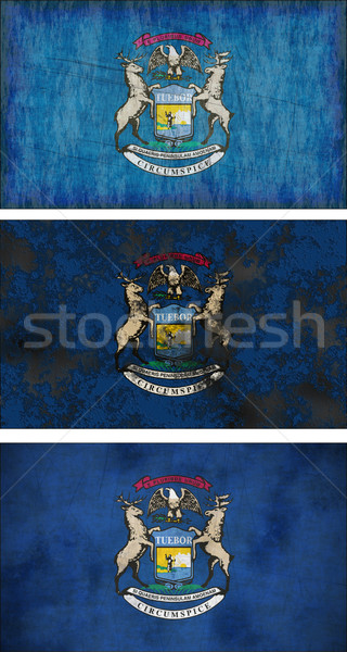 Flag of Michigan Stock photo © clearviewstock