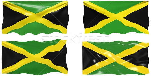 フラグ ジャマイカ 画像 ストックフォト © clearviewstock