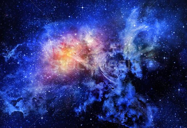 深い 宇宙 銀河 星 星雲 ストックフォト © clearviewstock