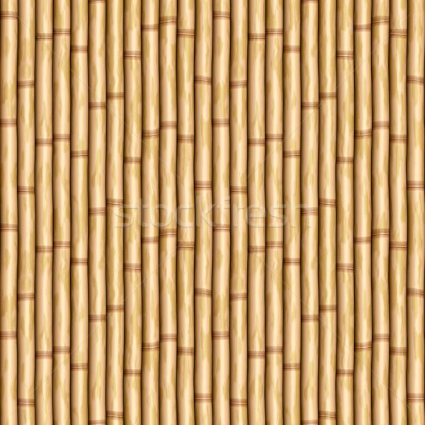 Bambusa ściany obraz kurtyny projektu Zdjęcia stock © clearviewstock