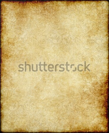 old parchment paper Stock photo © clearviewstock