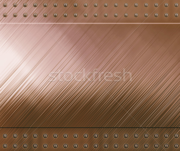 reflective copper background Stock photo © clearviewstock