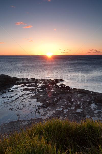 ocean sunrise at wollongong Stock photo © clearviewstock