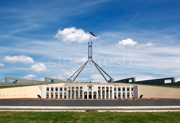 Parlement maison fédéral gouvernement Canberra Photo stock © clearviewstock