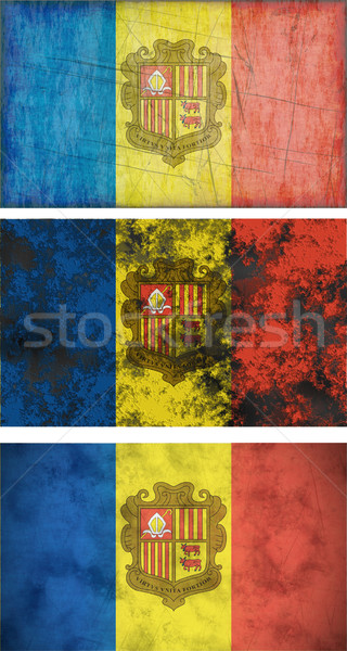 Flag of andorra Stock photo © clearviewstock