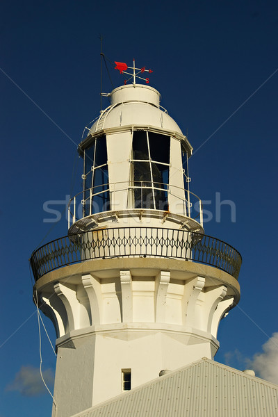 Smokey cape lighthouse Stock photo © clearviewstock