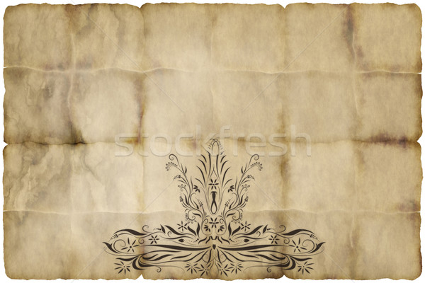 old paper Stock photo © clearviewstock