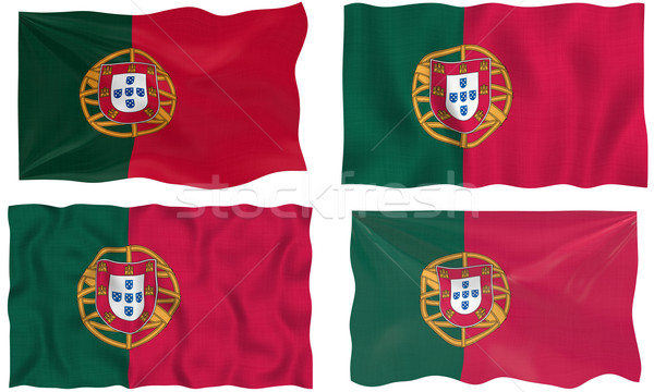 Flag of Portugal Stock photo © clearviewstock
