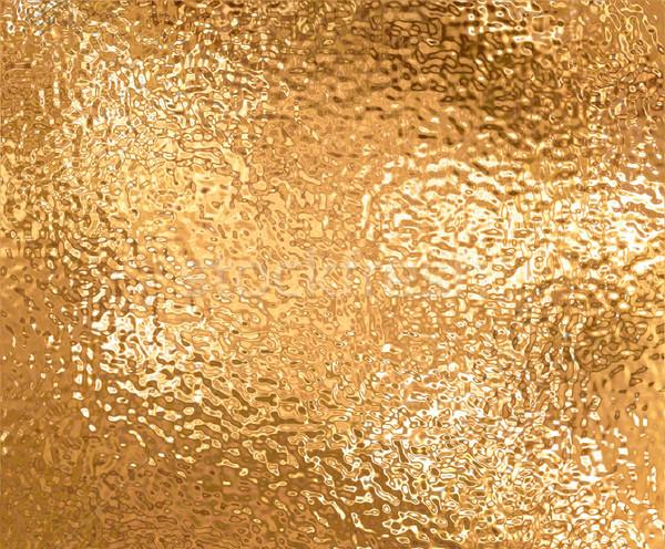 Altın büyük levha alüminyum arka plan Metal Stok fotoğraf © clearviewstock