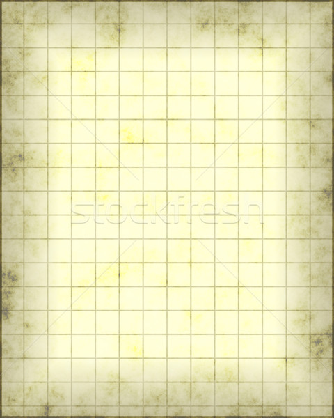 карта пергаменте старые кусок бумаги линия Сток-фото © clearviewstock