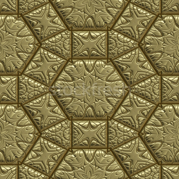 gold metal background Stock photo © clearviewstock